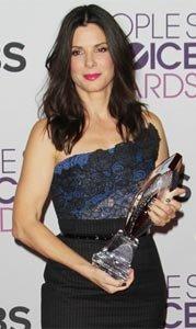Sandra Bullock Vera Wang Peoples Choice Awards