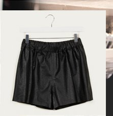 Leather Shorts By Boutique