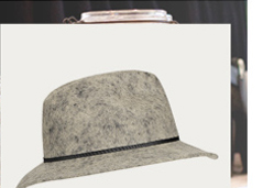 Short Brim Fedora Hat
