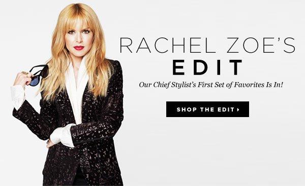 Check Out Rachel Zoe's January Boutique! Visit Rachel's Edit