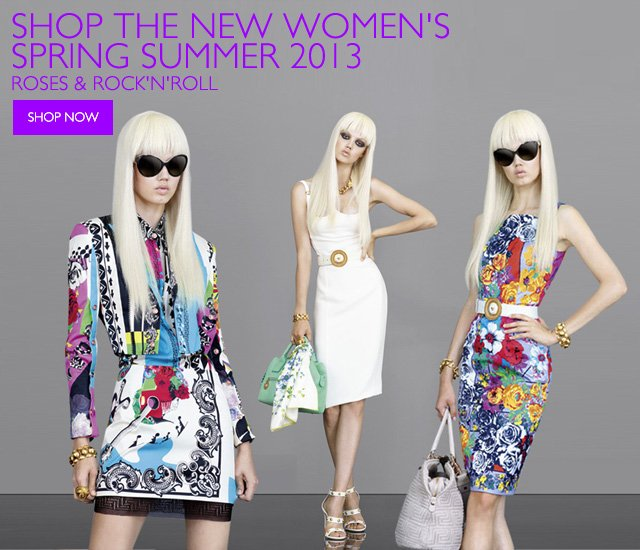 Versace New Spring Summer 2013 Collection
