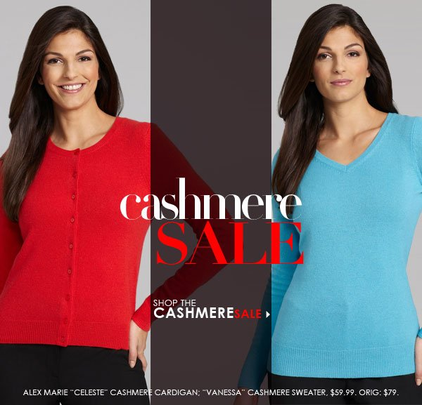Save on cashmere