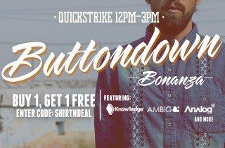Buttondown Bonanza BOGO