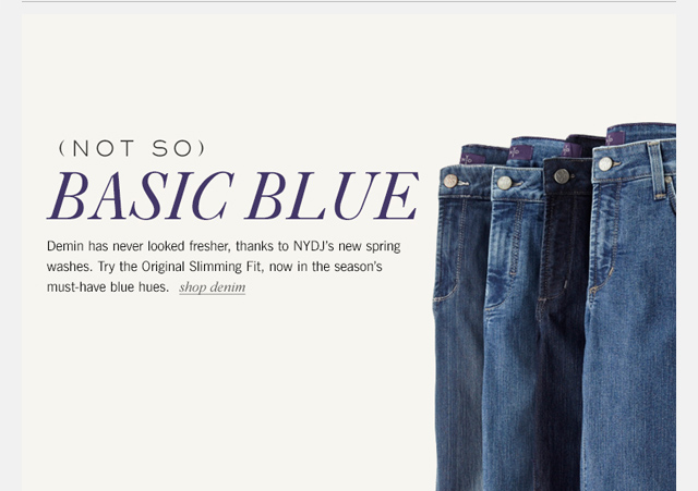 Shop NYDJ's newest washes and enjoy free shipping!