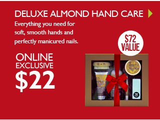 DELUXE ALMOND HAND CARE