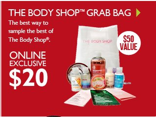 THE BODY SHOP™ GRAB BAG
