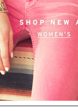 Shop New Arrivals - Women's