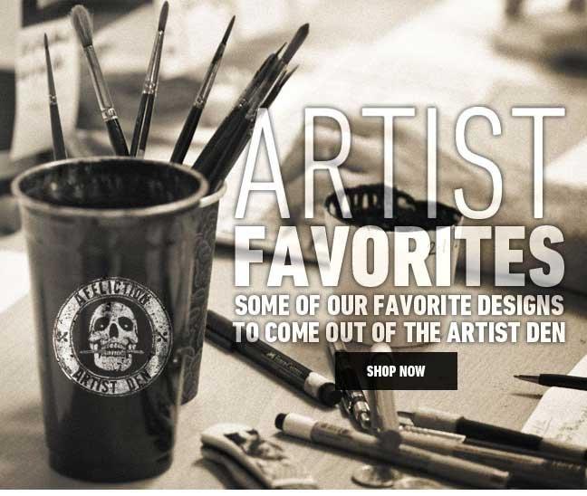 Artist Favorites