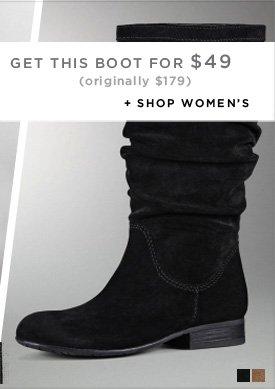 GET THIS BOOT FOR $49 (Originally $179) / SHOP WOMEN'S