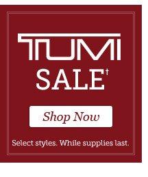 Shop TUMI Sale