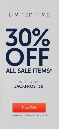 Shop Sale - Use Code JACKFROST30 For 30% Off!