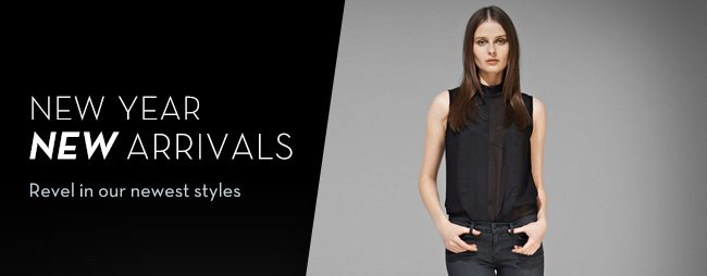 new year new arrivals