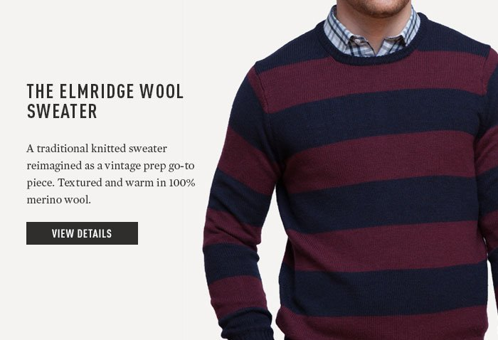 THE ELMRIDGE WOOL SWEATER