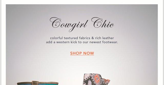 New footwear for your walking pleasure