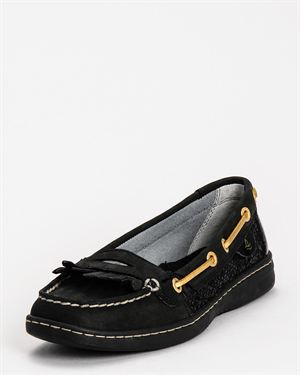 Pearlfish Glitter Boat Shoe $55