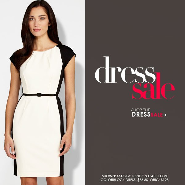 The Dress Sale -- Save on 100s of styles