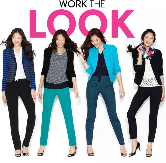 WORK THE LOOK