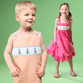Smocking & Lace: Kids' Apparel