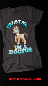 DR. WHOOVES GIRLS T-SHIRT