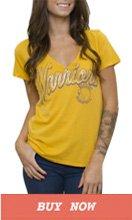 Gold State Warriors V-Neck