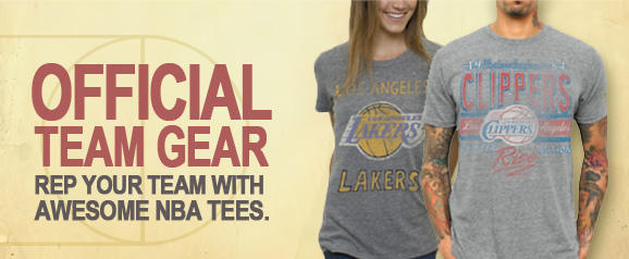 Official team gear. Rep your team.
