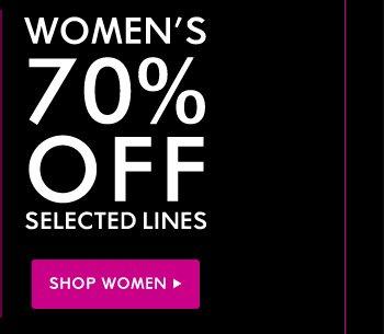 WOMEN - 70% OFF