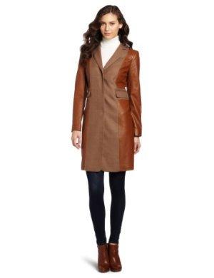 Jones New York <br/>Hidden Snap Notch Collar Coat