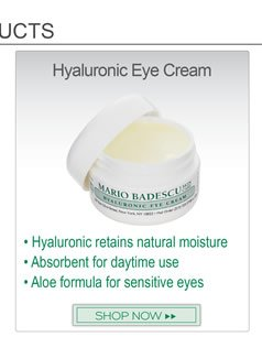 Hyaluronic Acid formula helps lock in the skins own natural moisture without the use of heavy, greasy oils. Absorbent, medium weight cream for use day or night.