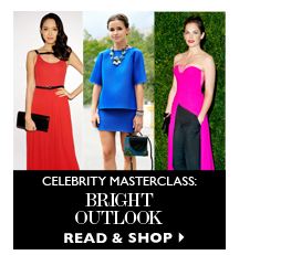 CELEBRITY MASTERCLASS: BRIGHT OUTLOOK READ & SHOP