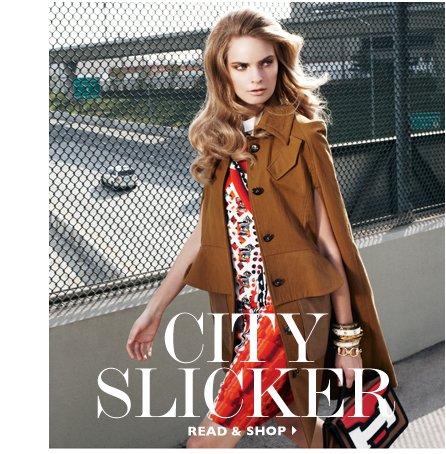 CITY SLICKER READ & SHOP