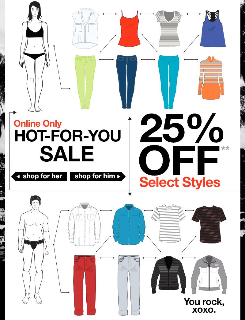 Hot-For-You Sale