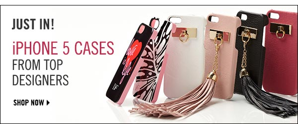 They're here! Get your iPhone 5 case now >>