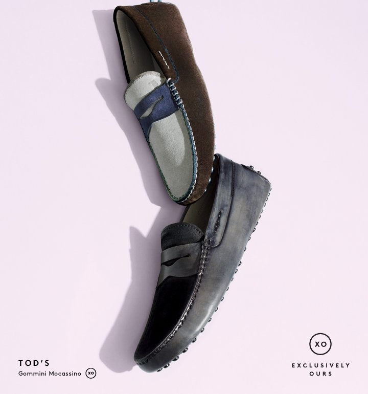 Take them for a spin: Shop the new collection of Tod's drivers.