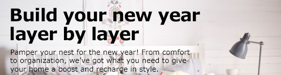 Build your new year layer by layer