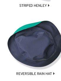 Reversible Rain Hat