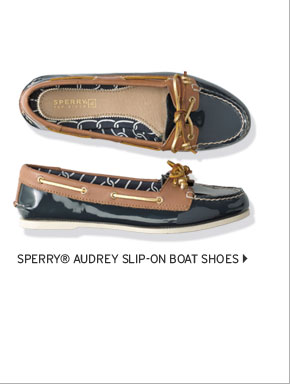 Sperry® Audrey Slip-On Boat Shoes