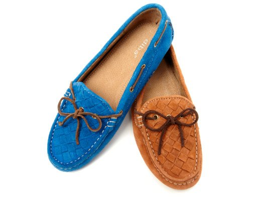 Stylish and comfortable, these suede woven loafers are endlessly wearable. They're my new everyday shoe!
