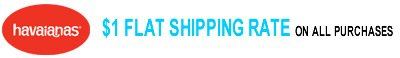 $1 Flat Shipping Rate On All Purchases