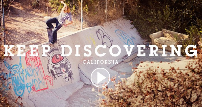 Keep Discovering California Video