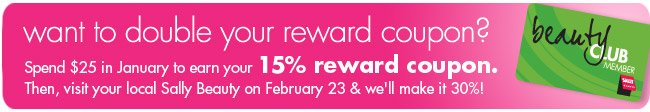 want to double your reward coupon?