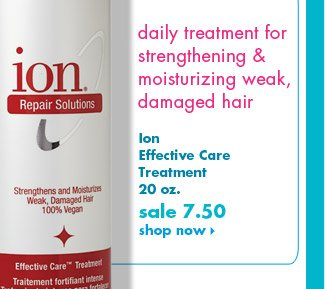 Ion Effective Care Treatment