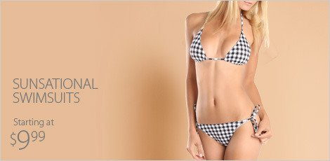 Sunsational Swimsuits