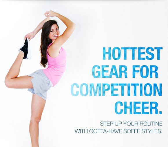 Hottest gear for competition cheer.