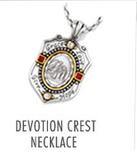Devotion Crest Necklace