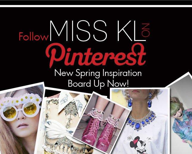 Follow Miss KL on Pinterest