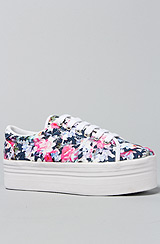 The Zomg Sneaker in Blue Floral