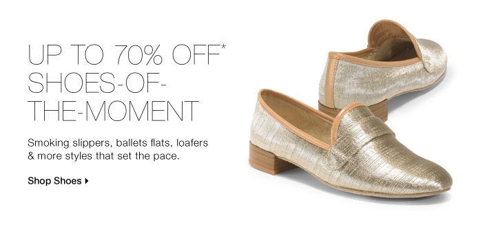 Up To 70% Off* Shoes-Of-The-Moment