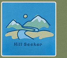 Women's Crusher Tee Hill Seeker Mountains