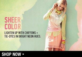 Sheer Colors - Shop Now