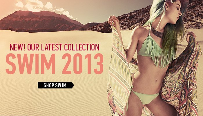 The 2013 Swim Collection- Shop Now